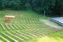 Amfiteátr na Horečkách prochází modernizací.