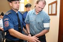 Radomil Šoman obžalovaný z vraždy homosexuálního přítele tvrdí, že je nevinný.