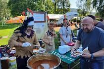 V Libhošti proběhl tradiční Gulášfest.