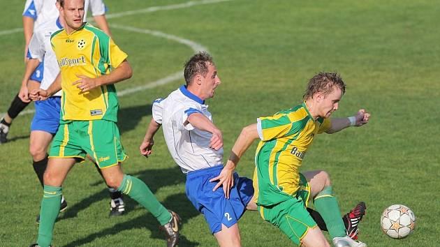 Po utkání byli šťastnější hráči Nového Jičína, kteří vyhráli 1:0.
