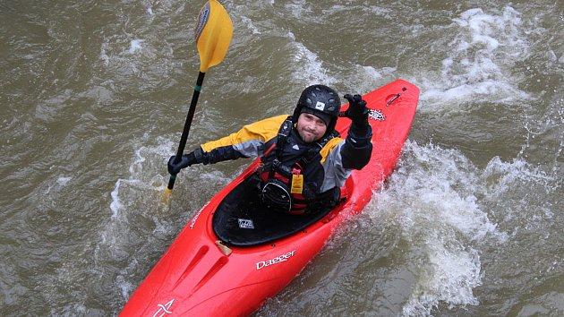 Otevírání řeky Odry