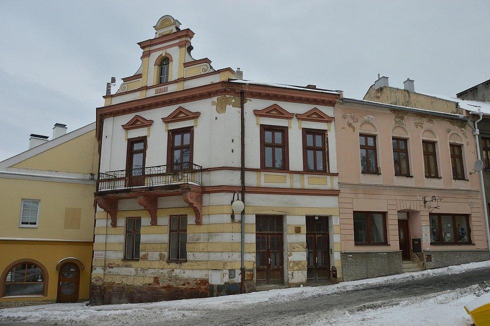 Ulice Městský kopec.
