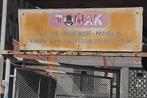 Bývalý areál Tonaku padne během několika týdnů.