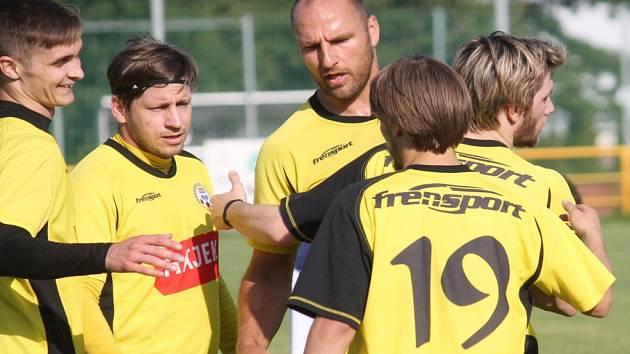 Fotbalisté Jakubčovic. Ilustrační foto.