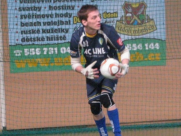 Futsal Cup nejlepší brankář Daniel Šťastný.