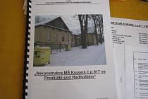 Studie, kterou si kvůli znovuotevření školky vypracovali obyvatelé Kopané.