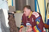 Stanislav Hajdušek byl z atmosféry na exhibici nadšen, stejně tak jeho spoluhráči ze Sparty, kteří do jeho rodného města zavítali s ním.