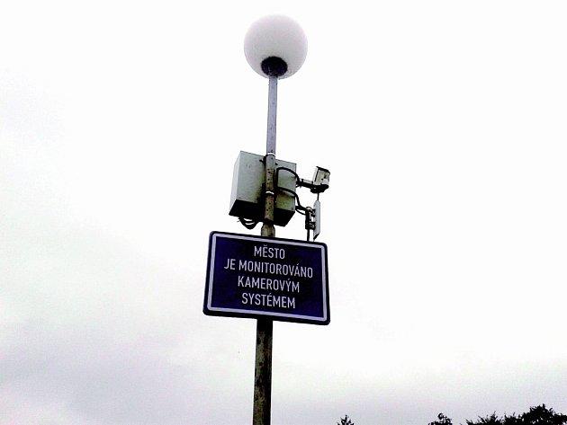 Kamera nainstalovaná v Odrách.