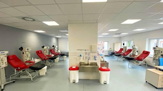 Zrekonstruované transfuzní oddělení novojičínské nemocnice.