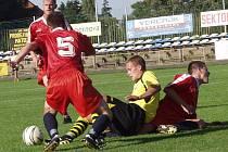 Všichni nováčci soutěží řízených krajským fotbalovým svazem měli vítězný víkend. Nový Jičín, Jakubčovice, Fulnek B i Starý Jičín získaly tři body.