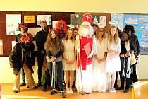 Mikulášský den otevřených dveří měli v ZŠ Záhuní ve Frenštátě pod Radhoštěm.