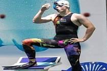 Ploutvař Jakub Klimpar se ve světové konkurenci rozhodně neztratil.