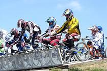 Závody BMX Moravské ligy se uskutečnily v sobotu a neděli v bikrospovém areálu ve Studénce.