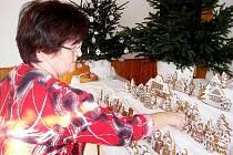 Marie Musilová upekla trojanovický perníkový betlém již posedmé.