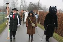 Po šesti desetiletích zažili v Klokočově, části Příbora, v sobotu 22. února masopustní průvod.