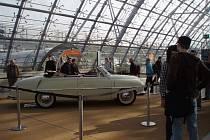 Tatraplán T 600 Cabrio s karoserií Sodomka sklízí v současnosti obdiv na jedné z největších automobilových výstav letošního roku v Lipsku.