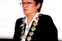 Zdeňka Leščišinová, starostka Frenštátu pod Radhoštěm