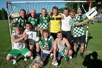 Vítěz letošního Bidolido Cupu, Supertým z Valašského Meziříčí.