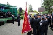 Oslavy obce a hasičů v Bítově.