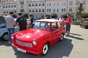 V rámci Rally Fulnek – Odry by se v programu závodů měla objevit i retro soutěž trabantů.