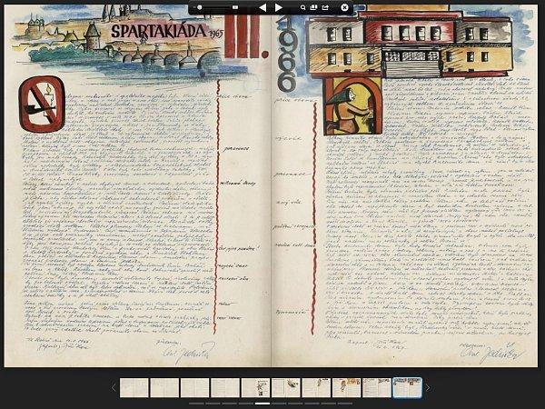 Pamětní kniha hasičského sboru ve Slatině 1898 - 2012na internetových stránkách.