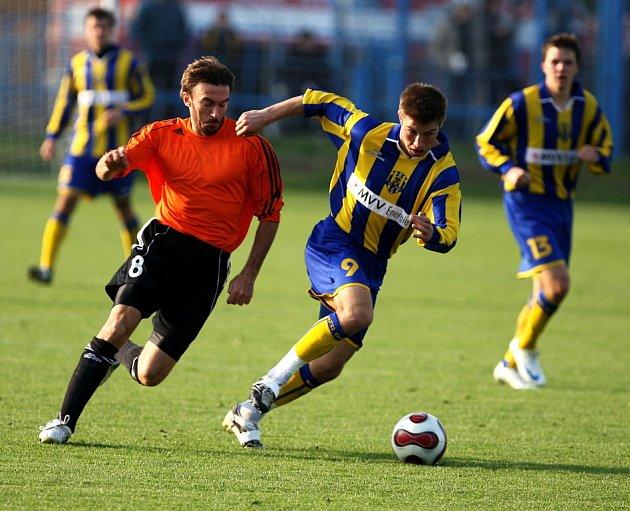 13. kolo II. fotbalové ligy, Fulnek vs. Opava.