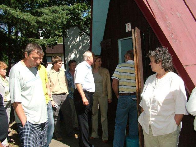 Minulý týden zastupitelé Fulneku jednali v areálu kempu.