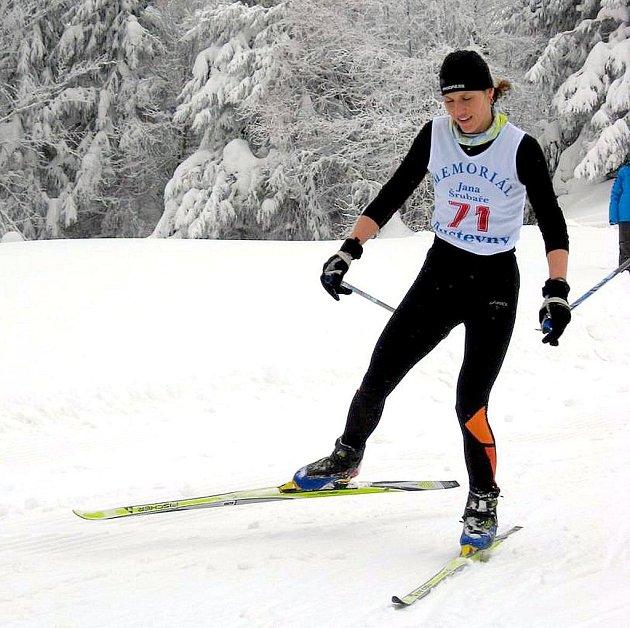 Hned po návratu z Německa se novojičínská vytrvalkyně zúčastnila závodů na Pustevnách, kde vyhrála.
