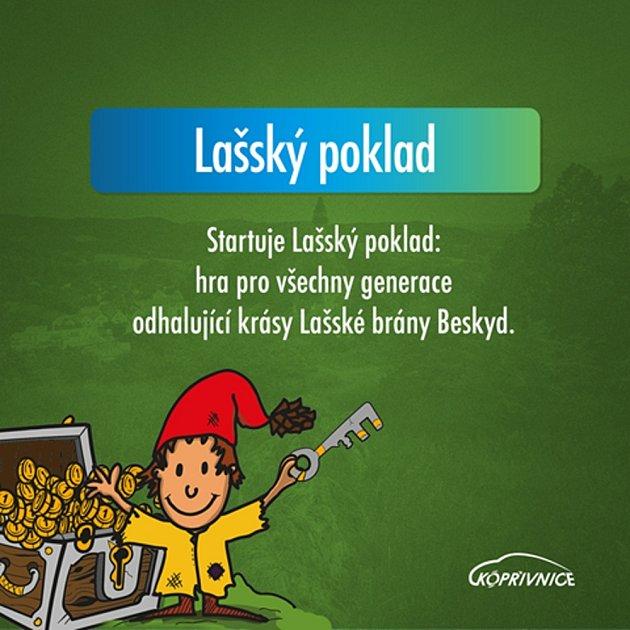 Hra pro všechny generace Lašský poklad.