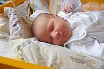 DAVID LOUČKA, Nový Jičín, nar. 22. 10. 2012, 56 cm, 4,20 kg. Nemocnice Nový Jičín.