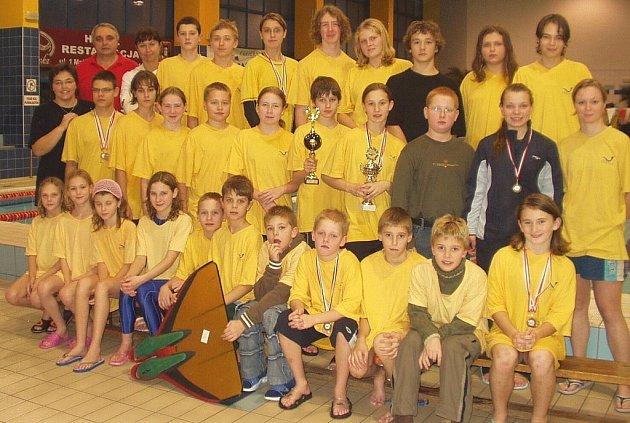 Novojičínský Klub vodních sportů Laguna předvedl v polské Jastrzebie Zdroj kvalitní výkony.