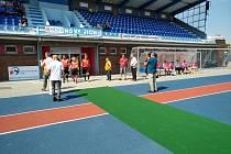 Sportovní stadion v Novém Jičíně prošel rekonstrukcí.