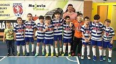 Zimní ligy přípravek se zúčastnilo 32 klubů z celého okresu Nový Jičín, mezi kterými nechybělo ani družstvo Studénky.