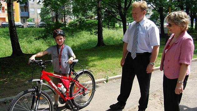 Z nového kola se radoval devítiletý Marian Žluva.