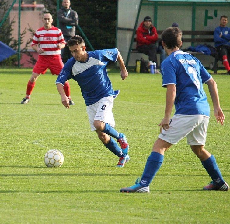 Snímky z utkání NFC Lichnov – Sokol Starý Jičín 2:2 (2:1).