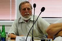 Kopřivnický radní Ivan Telařík se na posledním zasedání zastupitelstva hrdě hlásil k SPD.