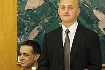 Trenér úspěšných závišických judistů Libor Kahánek.