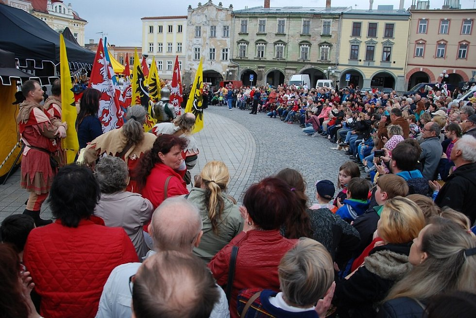 Příboráci vítali Karla IV.