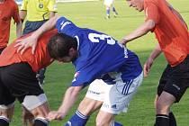 Fotbalisté Fulneku prohráli derby s Vítkovicemi.