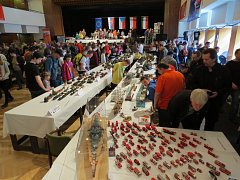 Výstava Beskyd Model Kit Show v Kopřivnici. Ilustrační foto.