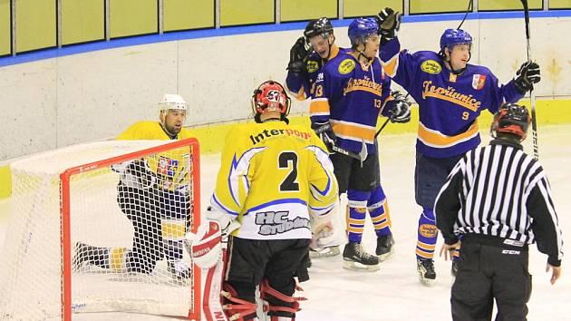1. zápas finále play-off II HC Studénka – HC Kopřivnice 1:3