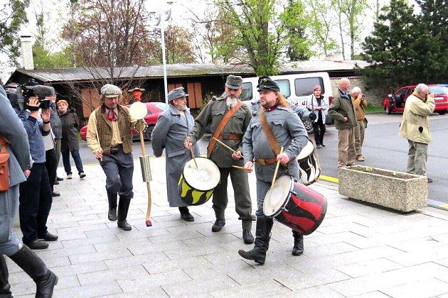 Oslavy Mezinárodního dne památek a sídel v centru Příbora.