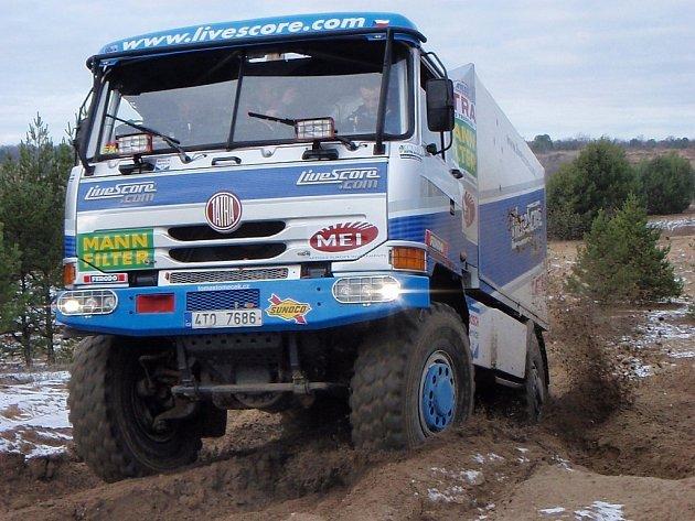 Na jubilejní třicátý ročník Rallye Dakar odjel příborský jezdec Letka Racing Teamu těsně po Vánocích a v tichosti.
