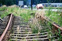 Poničená trať. Ilustrační foto.