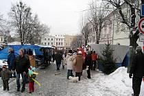 V sobotu 11. prosince se na náměstí v Odrách uskutečnil vánoční jarmark. K vidění byla brněnská kapela Poutníci, vyvrcholením byl živý Betlém.