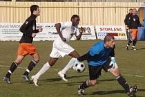 V 19. kole druhé nejvyšší fotbalové ligy hostil Fotbal Fulnek mostecký FK Baník.