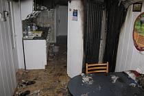 Požár v kuchyni ve finském domě způsobila lednička.