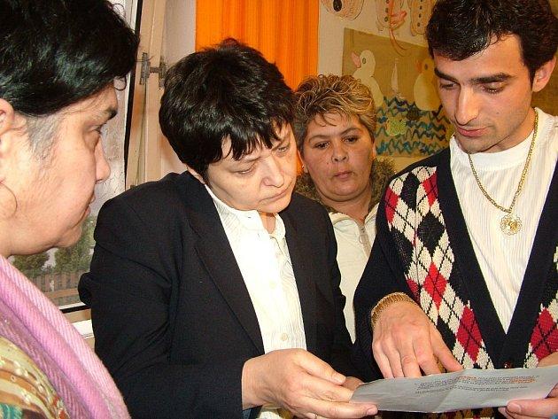 Kvůli romské problematice zavítala před rokem do Nového Jičína ministryně pro lidská práva Džamila Stehlíková.