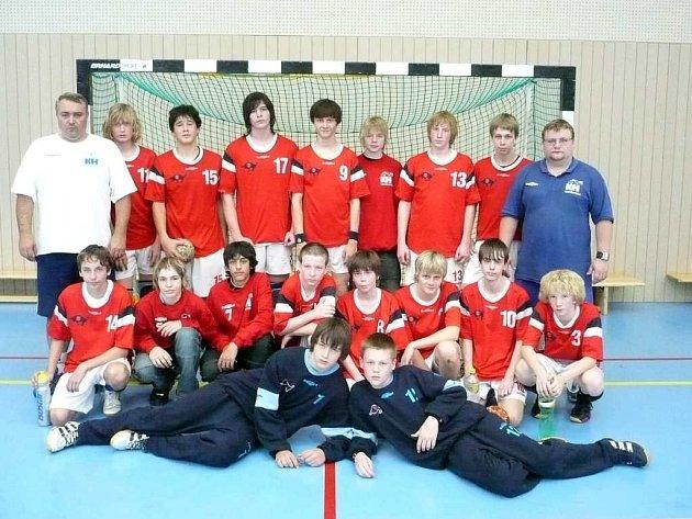 Starší žáci KH Kopřivnice postoupili na Mistrovství České republiky v házené.
