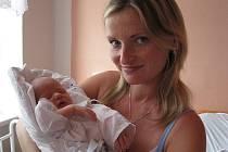 Adéla Šimarová, Loučky u Oder, datum narození 11. 10. 2008, 49 cm, 3150 g